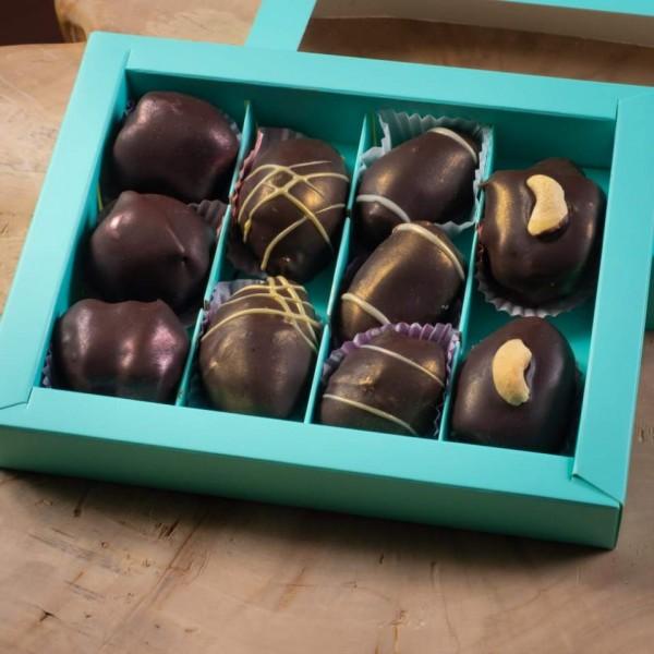 Арабские финики в шоколаде НАБОР из 12 фиников