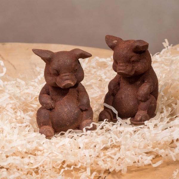 Свинка шоколадная
