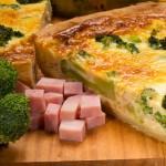 Пирог лоранский с ветчиной и брокколи