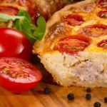 Пирог лоранский с мясом