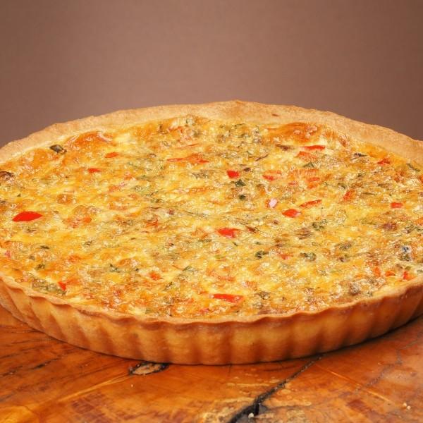 Пирог лоранский с тунцом