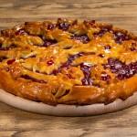 Пирог дрожжевой с вишней