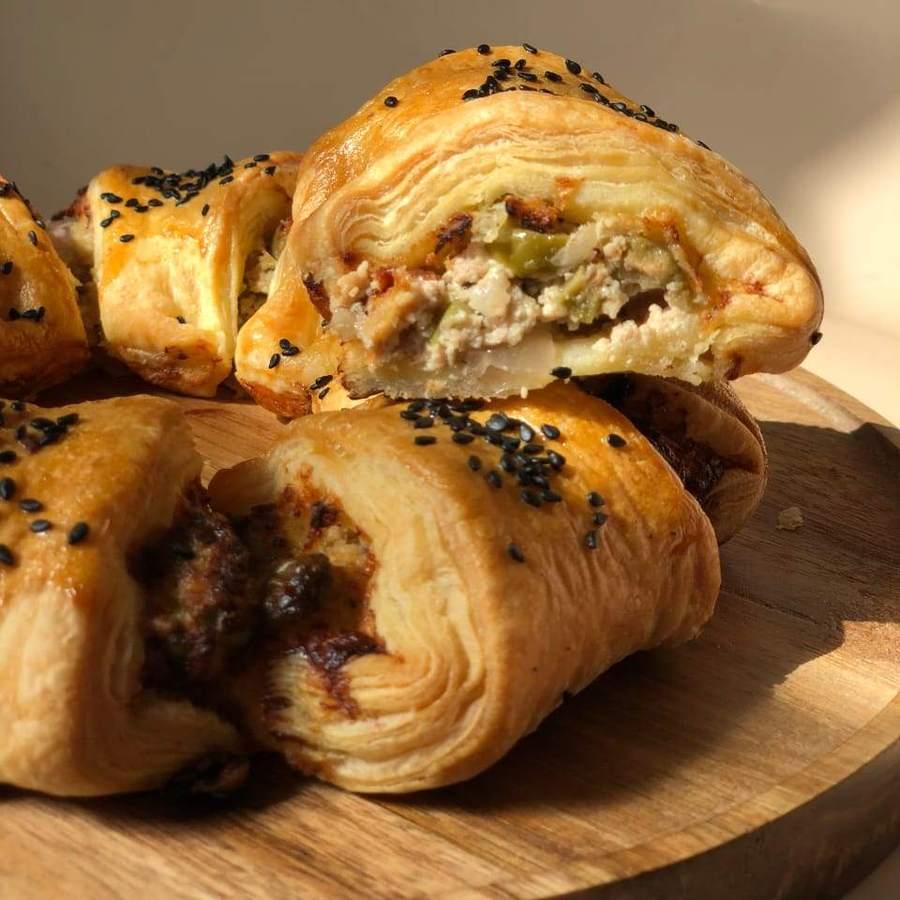 Средиземноморские слоёные пироги