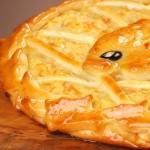 Пирог дрожжевой с рыбой