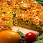Пирог дрожжевой с капустой