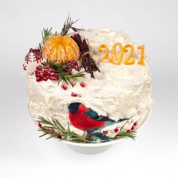 Торт новогодний 2021
